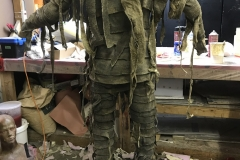 That one was a mummy suit I made in a weekend rush deadline at the shop I worked at Lindala Schminkin. It was for a museum scene where the displays came alive for last season of The Flash.