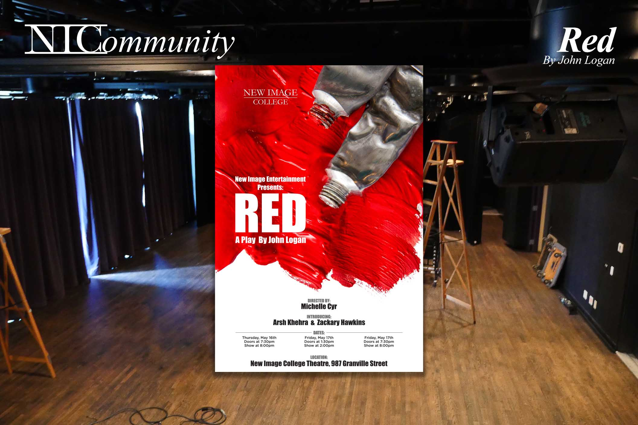 Our students perform 'Red' by John Logan