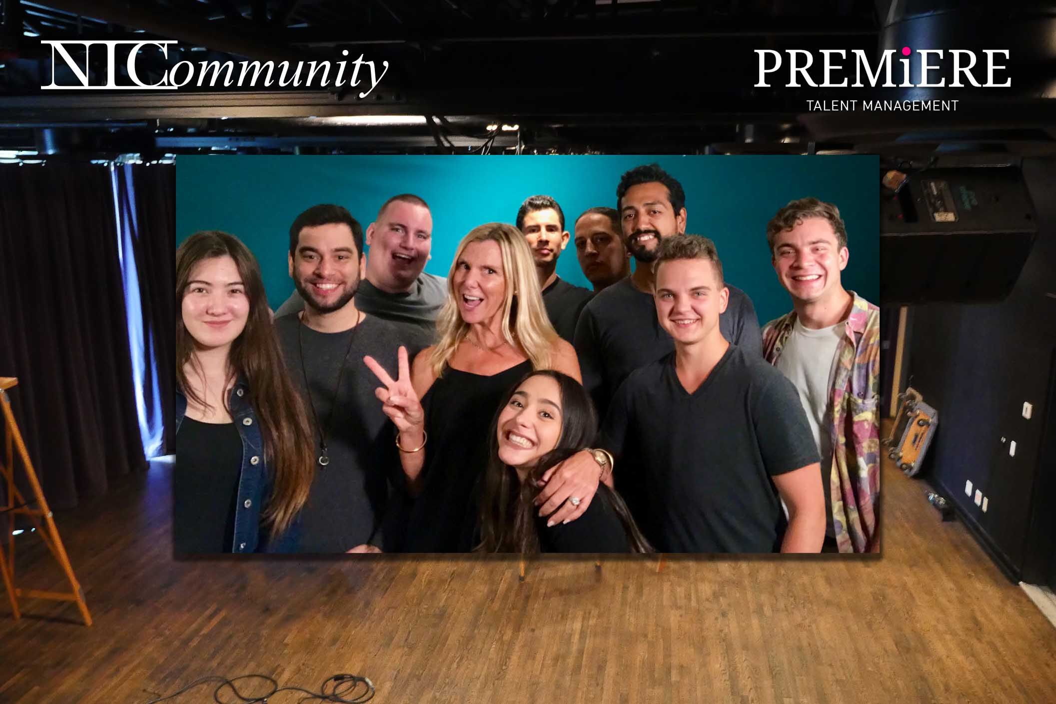 Premier Talent Agency Scouting For Talent @ NIC