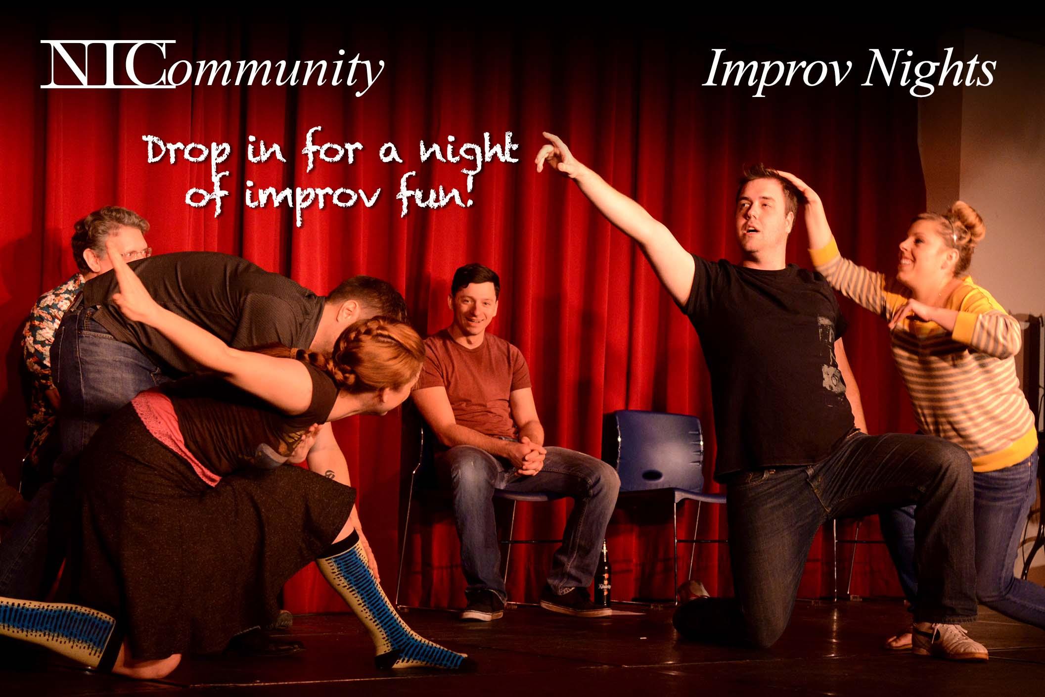 Improv Nights with Cory Stuppard!