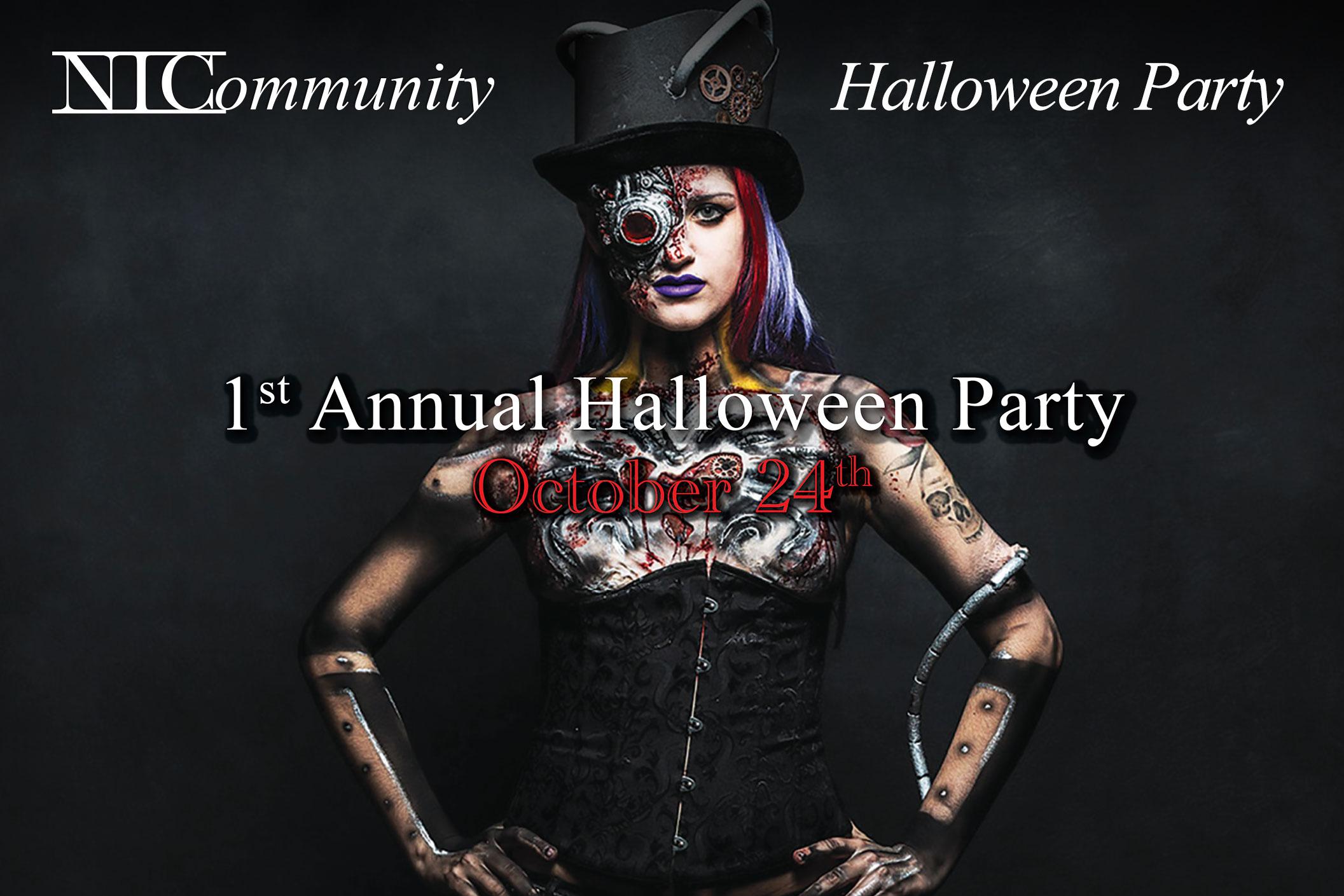NIC Halloween Party!