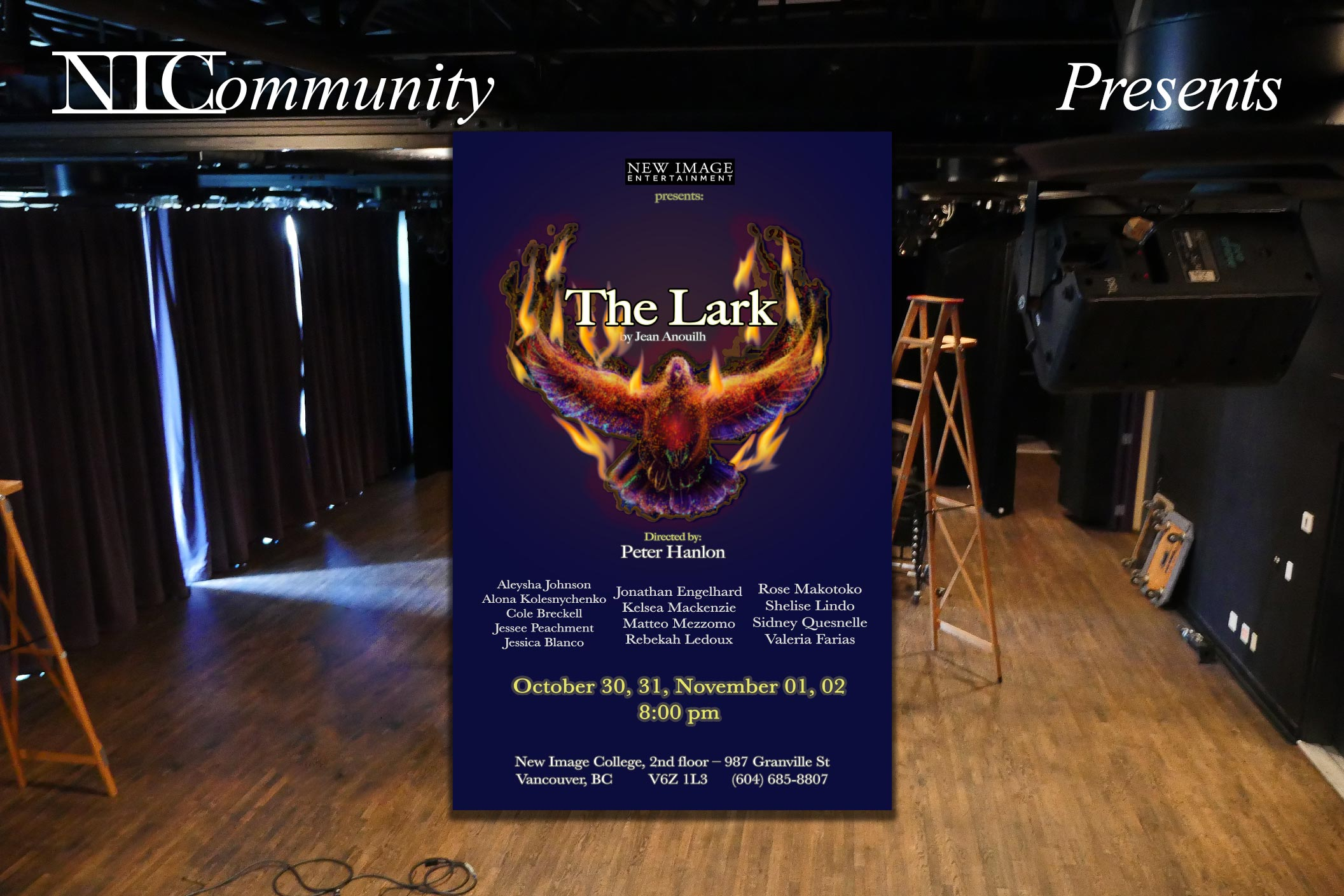 """NIC Play presents """"The Lark"""" by Jean Anouilh"""