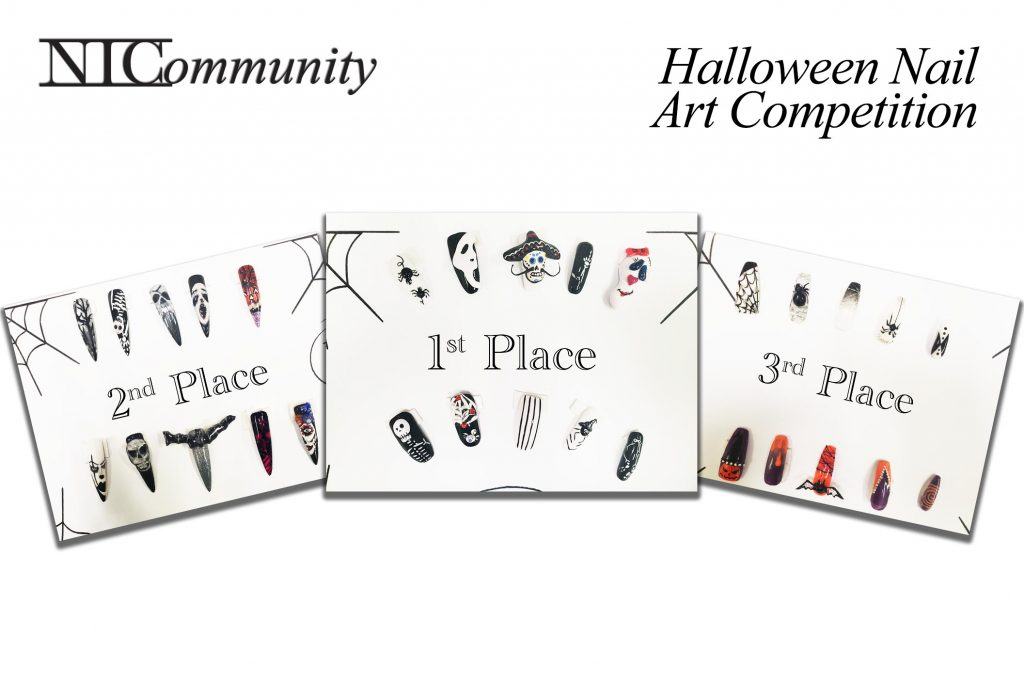 Halloween Nail Art Competition Winners!