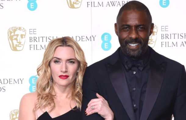 Working with Idris Elba and Kate Winslet